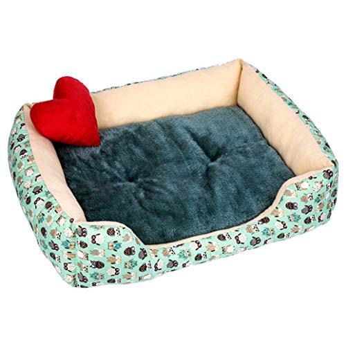 Bunte Big Dog Bed Cord Weiche rutschfeste Basis Einfach zu reinigen Robust Plüsch Winter Hunde Korb Fütterungsmatte -