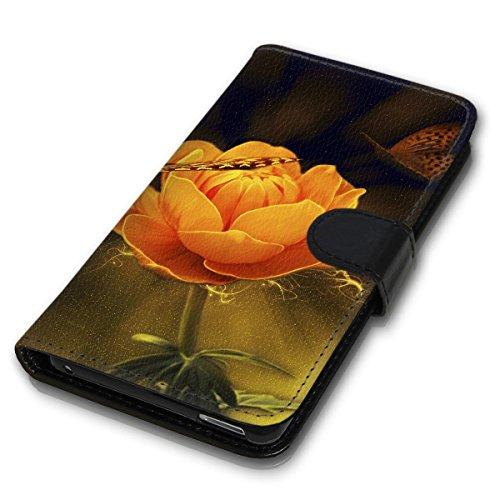 Wallet Book Style Flip Handy Tasche Case Schutz Hülle Schale Motiv Etui für Apple iPhone 4 / 4S - Variante UMV15 Design12 Design 11