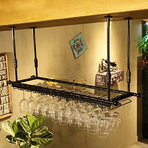Wmju Weinglas Rack, Regal Weinglas Halter, Weinglas Rack, Weinglas Rack, Champagner Glasregal, Glasregal (größe : 100cm)