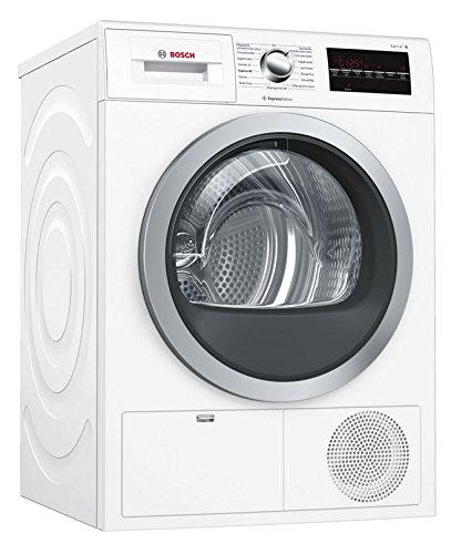 Bosch Serie 6 WTG864H1 sèche-linge Autonome Charge avant Blanc 9 kg B - Sèche-linge (Autonome, Charge avant, Condensation, Blanc, Rotatif, Tactil, Droite)