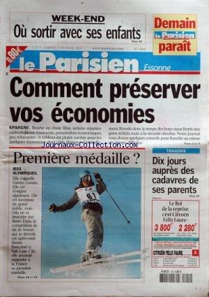 PARISSIEN DE L'ESSONNE (LE) [No 17860] du 09/02/2002