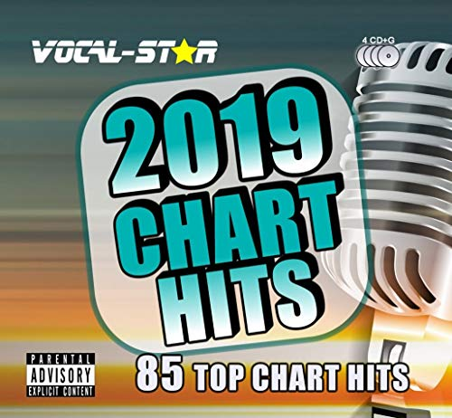 Vocal-Star 2019 Karaoke Chart Hits 85 Songs on 4 CD+G (CDG) Discs. The Top 85 Chart Songs of 2019...