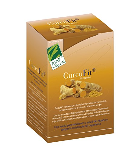 100% Natural CurcuFit Antioxidants - 60 Capsules