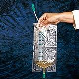 DCT 2919813 Urin Beinbeutel, Standard, unsteril mit Ablauf, 10 cm Schlauch, 750 mL (10 er-Pack)