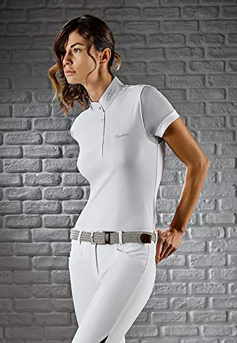 Equiline Damen-Poloshirt Catherine weiß XL/42