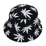 Chapeau de Anti-soleil Respirant Feuille d'érable d'été Chapeau de pêcheur Anti UV Casquettes pour été Loisirs