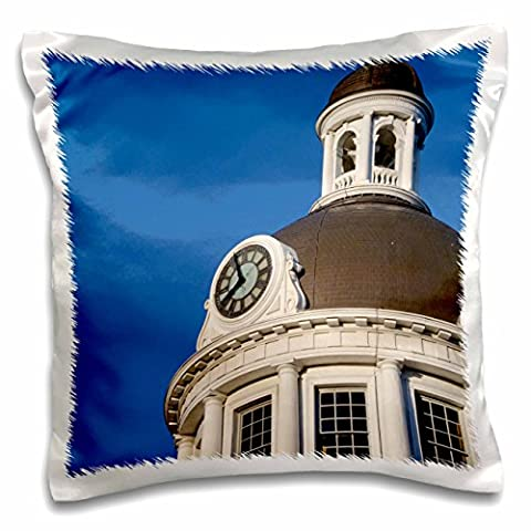 Danita Delimont - Clock Towers - Clock tower, City Hall, Ontario, Canada - CN08 CMI0076 - Cindy Miller Hopkins - 16x16 inch Pillow Case (pc_135361_1)