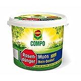 COMPO Rasendünger Moos-Nein danke! 4kg Eimer
