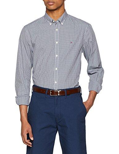 Tommy Hilfiger Herren CORE Check Shirt Freizeithemd, per Pack Mehrfarbig (Peacoat/Bright White 902), X-Large (Herstellergröße: XL) - Tommy Hilfiger Check