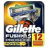 Gillette Fusion5 ProGlide Power Rasierklingen, 12 Stück