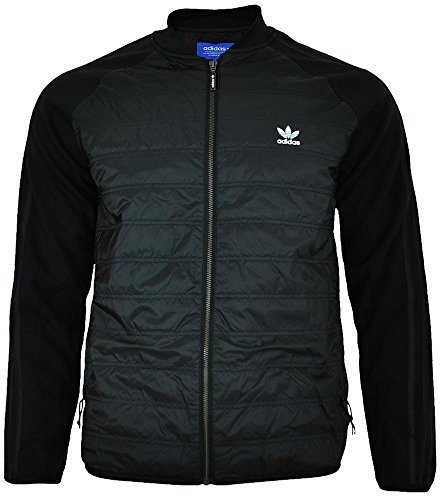 fb1c48444924 adidas Originals Mens SST Thermal Track Jacket in Black - Discount ...