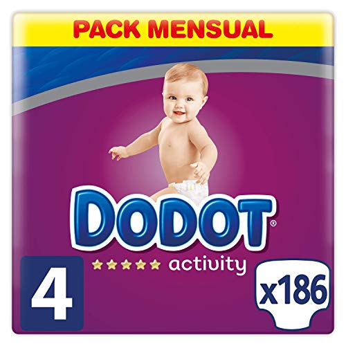 Pañales para bebés Dodot Protection Plus Activity desechables