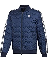 Adidas SST Quilted Chaqueta, Hombre, Azul Marino, Medium