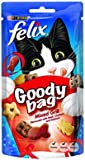 Felix Cat Treat Goody Bag Mixed Grill, 60 g - Pack of 8