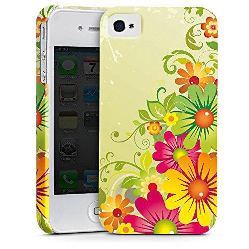 Apple iPhone X Silikon Hülle Case Schutzhülle Flowers Blumen Floral Premium Case glänzend