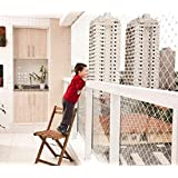 amz sports nets Anti Bird net for Balcony (Protection NET) (Pigeon)(Monkey) Green (10X35)