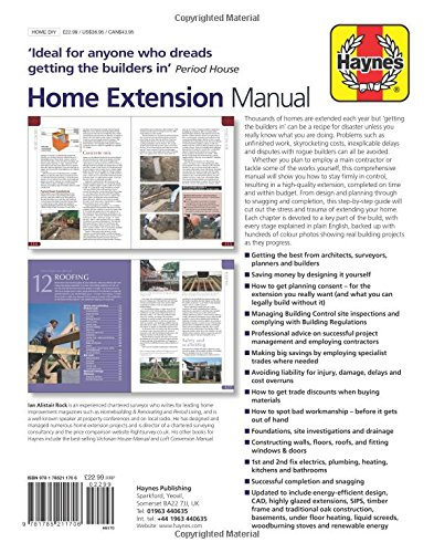 home extension manual by ian rock new hardback book 9781785211706 ebay rh ebay co uk Proces Manual Manual RV Steps