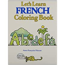 Let's Learn French Coloring Book: Book, Cassette and Crayons