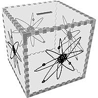 Preisvergleich für Groß 'Atom' Klar Sparbüchse / Spardose (MB00072830)