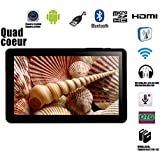 """Tablet Tactile 7""""screen HD Android 4.4 Quad-core RAM 512MBo ROM 8GBo"""