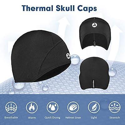 Empirelion kids Helmet Liner Teens Thin Thermal skull caps Cover Ears Beanie child Running Hats for Boy & Girl by Jiangsu Empire International Co.Ltd.