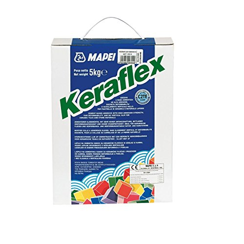 Grau Mapei Keraflex Fliesenkleber 5 kg