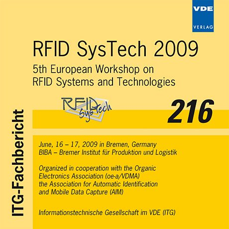 RFID Systech 2009: 5th European Workshop on RFID Systems and Technologies, June, 16 - 17, 2009 in Bremen, Germany Automatic Identification System