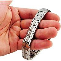 carejoy Vier neuen Element Silber Titan Anti-Müdigkeit Anion Magnetische Energie Germanium Power Health Armband... preisvergleich bei billige-tabletten.eu
