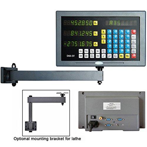 /150/mm pr/äzise Digital LCD-Ebene Lesung f/ür Drehmaschinen-Fr/äsen 0/
