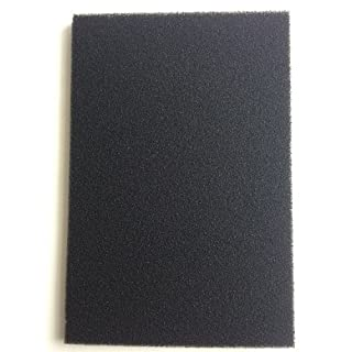 Finest-Filters DIY Activated Carbon Impregnated Foam Sheet for Aquarium and Pond Filters (12mm Thick Sheet)