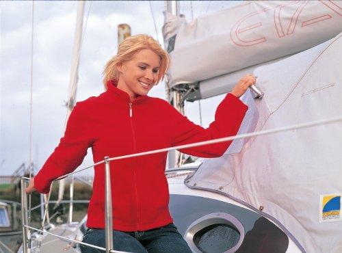 Résultat La Femme semi-micro veste polaire Rouge