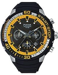 Pulsar Herren-Armbanduhr XL Pulsar X Chronograph Quarz Kautschuk PT3643X1
