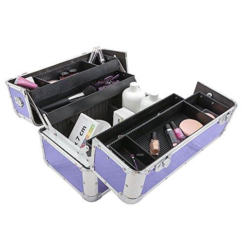 Etagenkoffer Beauty Case Kosmetikkoffer – in vielen Farben lieferbar - 6