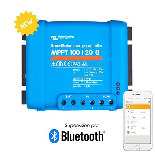 Este controlador MPPT SmartSolar Victron 100V 20A está diseñado para entregar el rendimiento energético más alto posible en el menor tiempo posible. Esto se logra a través de la tecnología de seguimiento del punto de máxima potencia, qui extrae hasta...