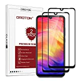 OMOTON [2 Pack] Compatible with Xiaomi Redmi Note 7 Screen