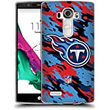 Official NFL Camou Tennessee Titans Logo Soft Gel Case for LG G4 / H815 / H810