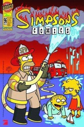Homer bei der Feuerwehr - Okt. 2004 - Extra: Halloween-Poster ()