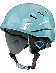 Mammut Skihelm Alpine Rider - Casco de ciclismo multiuso, color Turquesa, talla XS/M (52 - 57 cm)