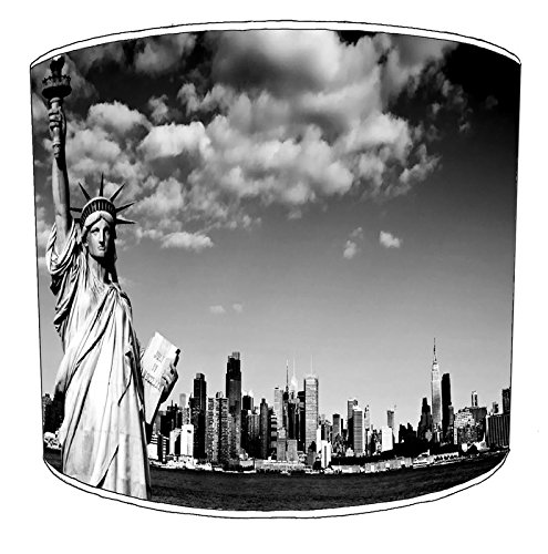 Premier Lighting 20,3 cm Plafond Manhattan New York Lampshades1, 30,5 cm
