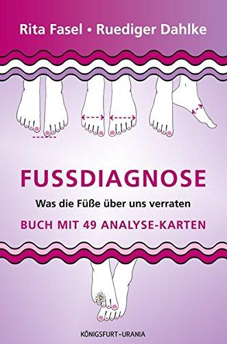 Fußdiagnose: Set mit Buch und Karten (Was die Füße über uns verraten, Fußanalyse)