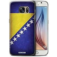 Stuff4 Hülle / Hülle für Samsung Galaxy S6/G920 / Bosnien und Herzegowina Muster / Flagge Kollektion
