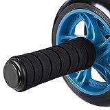 Songmics Bauchtrainer Roller AB Wheel mit Knie Pad Blau SPU75P - 5