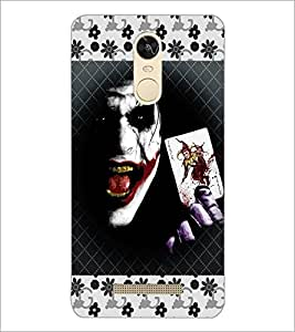 PrintDhaba Joker D-3071 Back Case Cover for XIAOMI REDMI NOTE 3 (MEDIATEK) (Multi-Coloured)