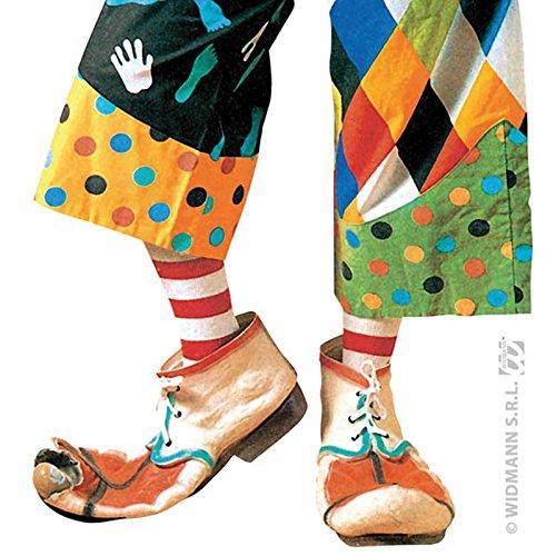 Unbekannt Aptafêtes-ac1860--Schuhe Clown Auguste Sortiert Stoff-28cm