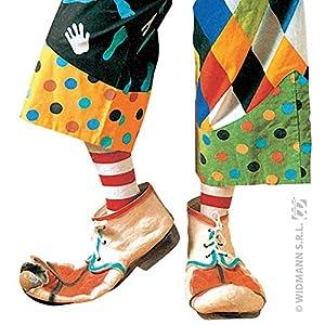 WIDMANN?ac1860?Zapatos Payaso Infantil Assorti