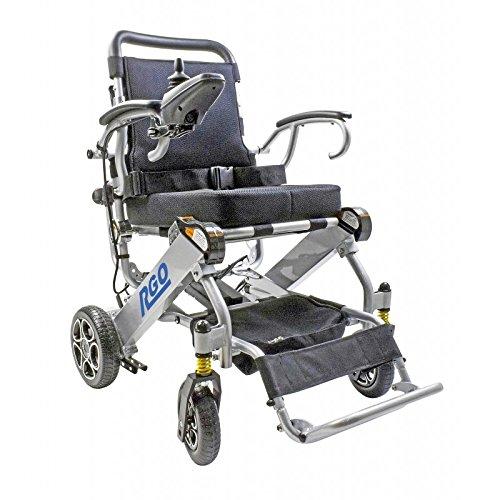 Trendmobil R-Go Faltbarerer elektrischer Reise-Rollstuhl (inklusive Vor-Ort-Service)