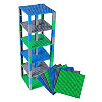 Baseplate 6 12 36 pack Brik Tower Building Block and Brick Parent