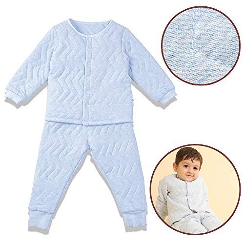i-baby Baby Jungen (0-24 Monate) Schlafanzughose, Blau 18-24 Monate