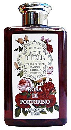 hanorah Gewässern Italiens Bad Pink von Portofino 300ml. Seifen und Kosmetik (Portofino Bad)