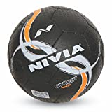 #4: Nivia Street Rubber Football, Size 5 (Black)